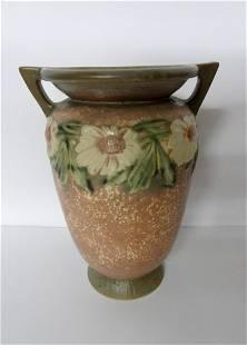 Large unsigned Roseville Vase