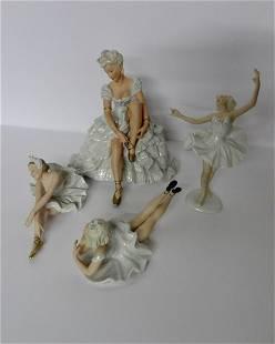 4 Schau Bach Kunst German Ballerina Figures