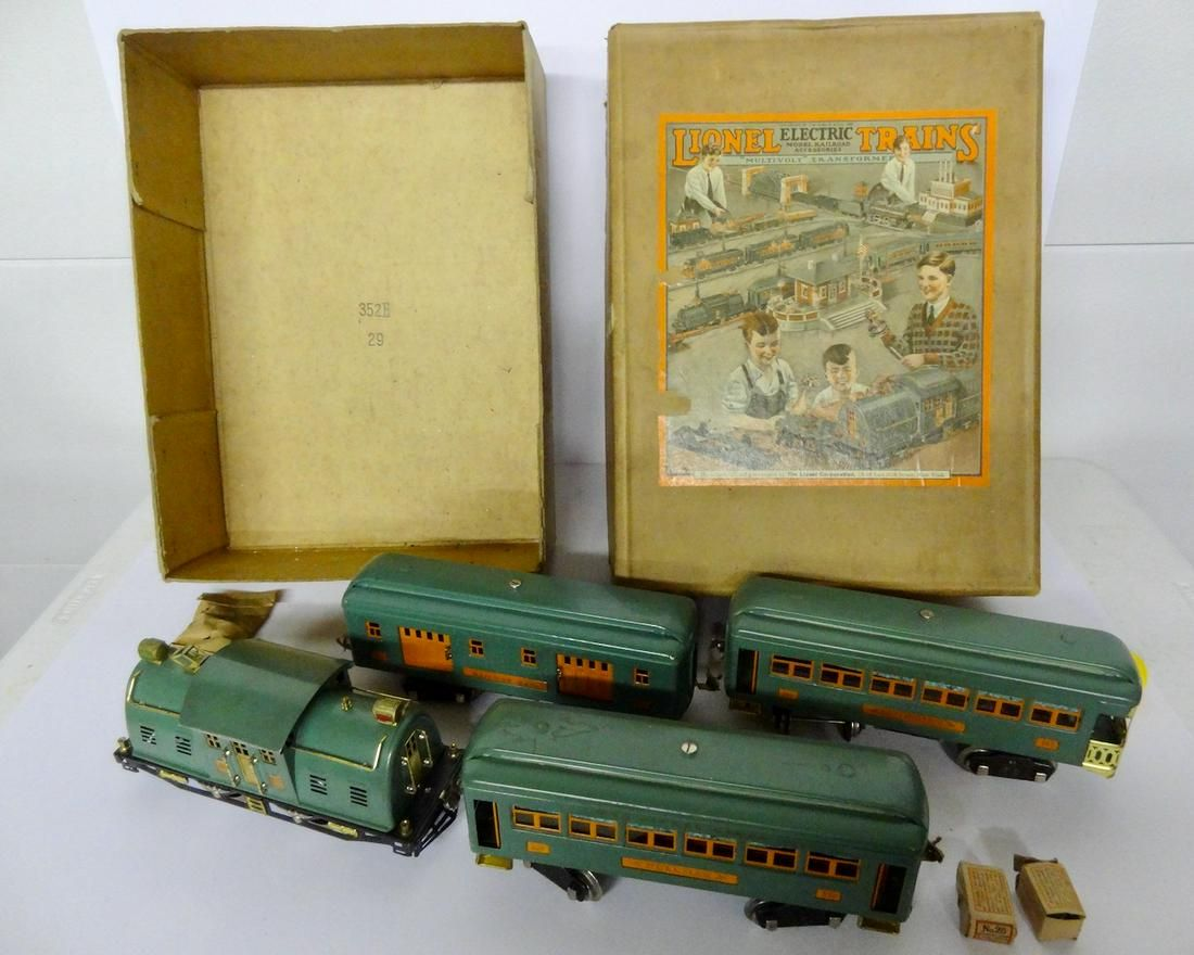 Lionel Train Set in Original Box