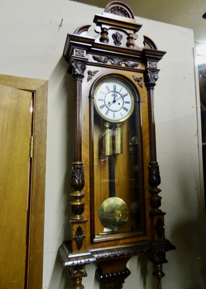 Impressive 2 Weight Vienna Wall Hanging Clock