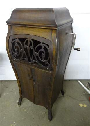 Upright Sonora Bombay Sided Phonograph