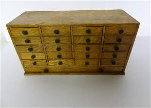 Country Store Oak Small Drawer Cabinet