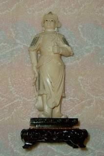 Carved Ivory Warrior