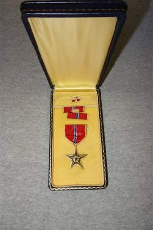 Bronze Star Medal in Case