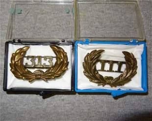 313 & 111 Medals