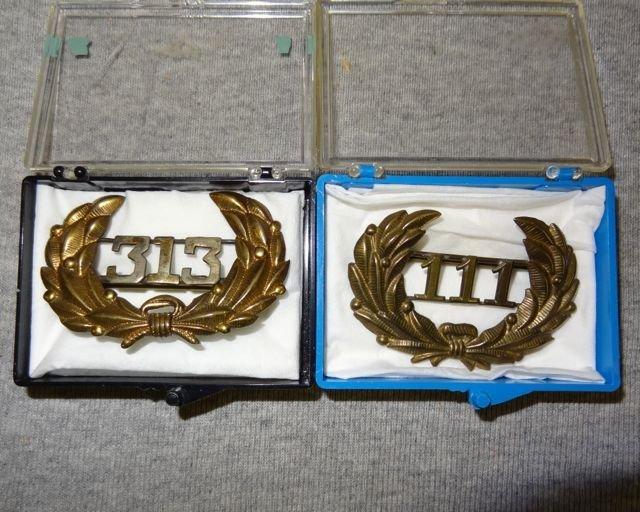 4: 313 & 111 Medals
