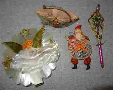 4 Early Christmas Ornaments