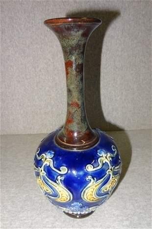 Early Doulton Pottery Vase