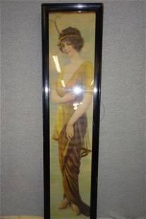 1914 Alfred Everill Orr Signed Yard long Framed Print