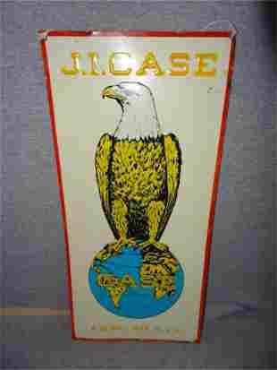 Case Eagle Tin Sign