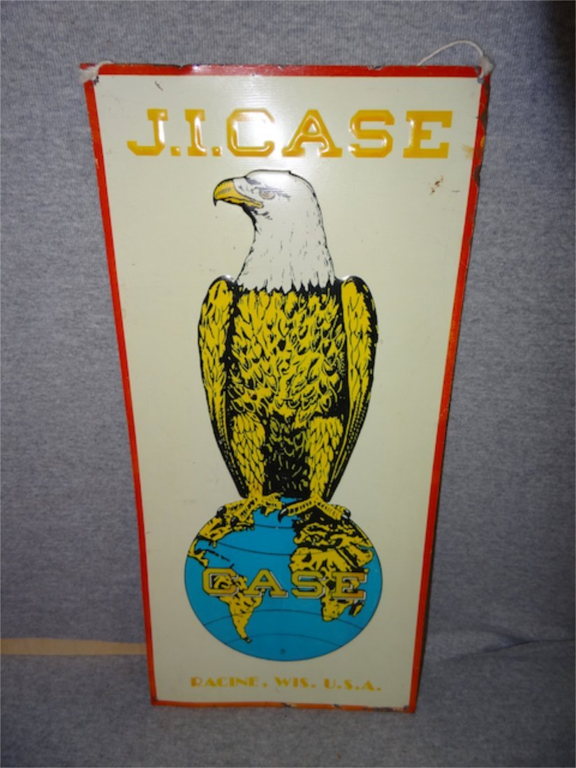 Case Eagle Tin Sign