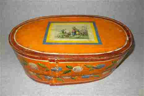 Early Rosemauled Bentwood Box
