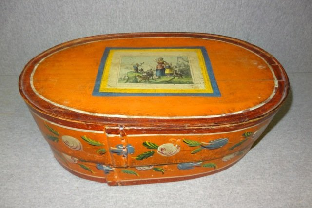 Early Rosemauled Bentwood Box