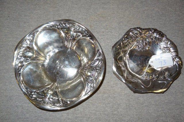 2 Sterling Bowls