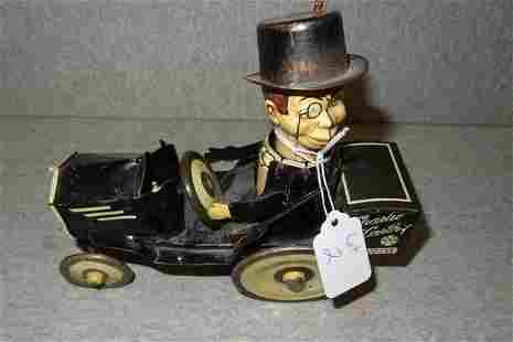 Marx Charlie McCarthy Tin Toy