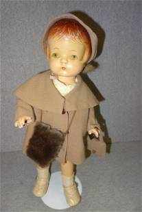 Composition Doll with Original Effenbee