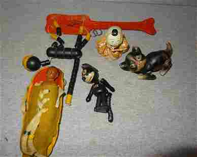 5 Small Toys-Felix & Others