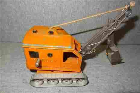 Unusual Hubley Crane Kiddie Toy