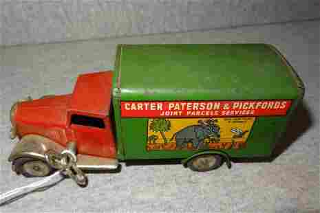 Minic Carter Paterson Pickford Parcel Service Truck