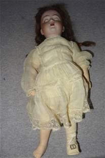 """Simon Halbig 14"""" Bisque Doll"""