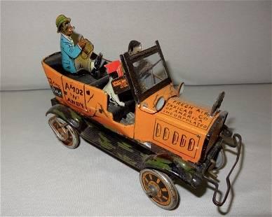 Amos & Andy Tin Windup Taxi