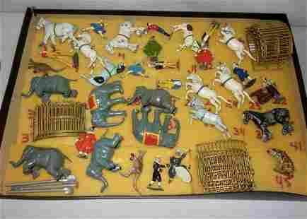 Rare 50 pc. Britannia Circus Toy Set