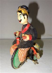 1890's Trademark TPS Japan Wind-Up Toy