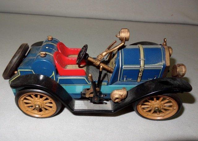 1913 Schuco Mercer Key Wind Tin Toy Car