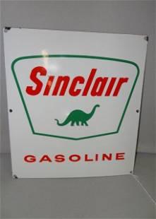 Sinclair Porcelain Pump Plate Dated 1961