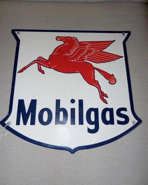 Mobilgas Pump Plate