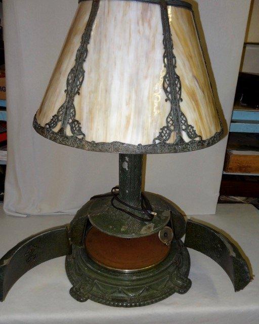 Rare Lamp Phonograph