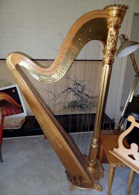 Lyon & Healy Concert Grand Harp