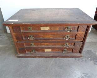 4 Drawer Willimatic Spool Cabinet