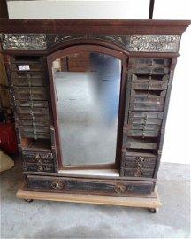 Lg. Impressive Belding Bro's Spool Cabinet