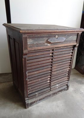 Wooden File Type Cabinet