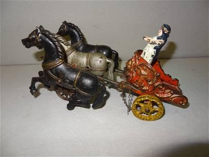 Large Horse Drawn Roman Chariot