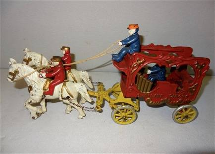 Large Overland Circus Horsedrawn Wagon