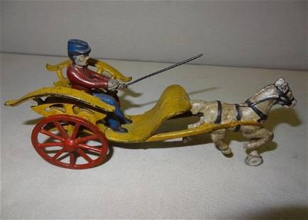 Early Horsedrawn Mechanical Surey Rider
