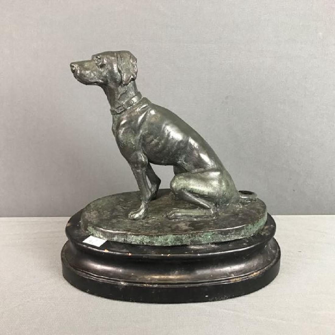 Bronze Figure of Dog