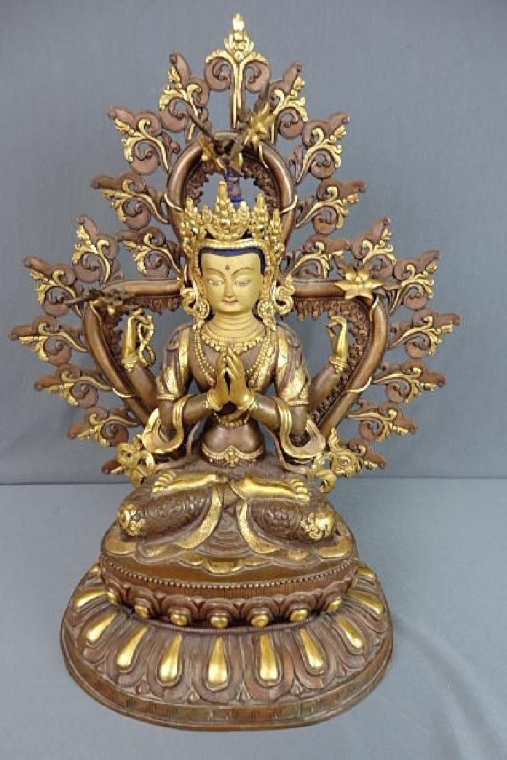 Large Buddha Chenrezig Statue