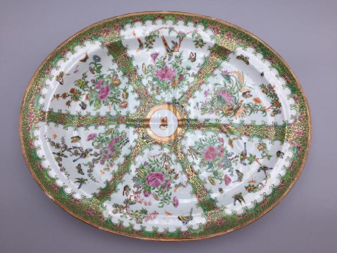 Rose Medallion  meat platter