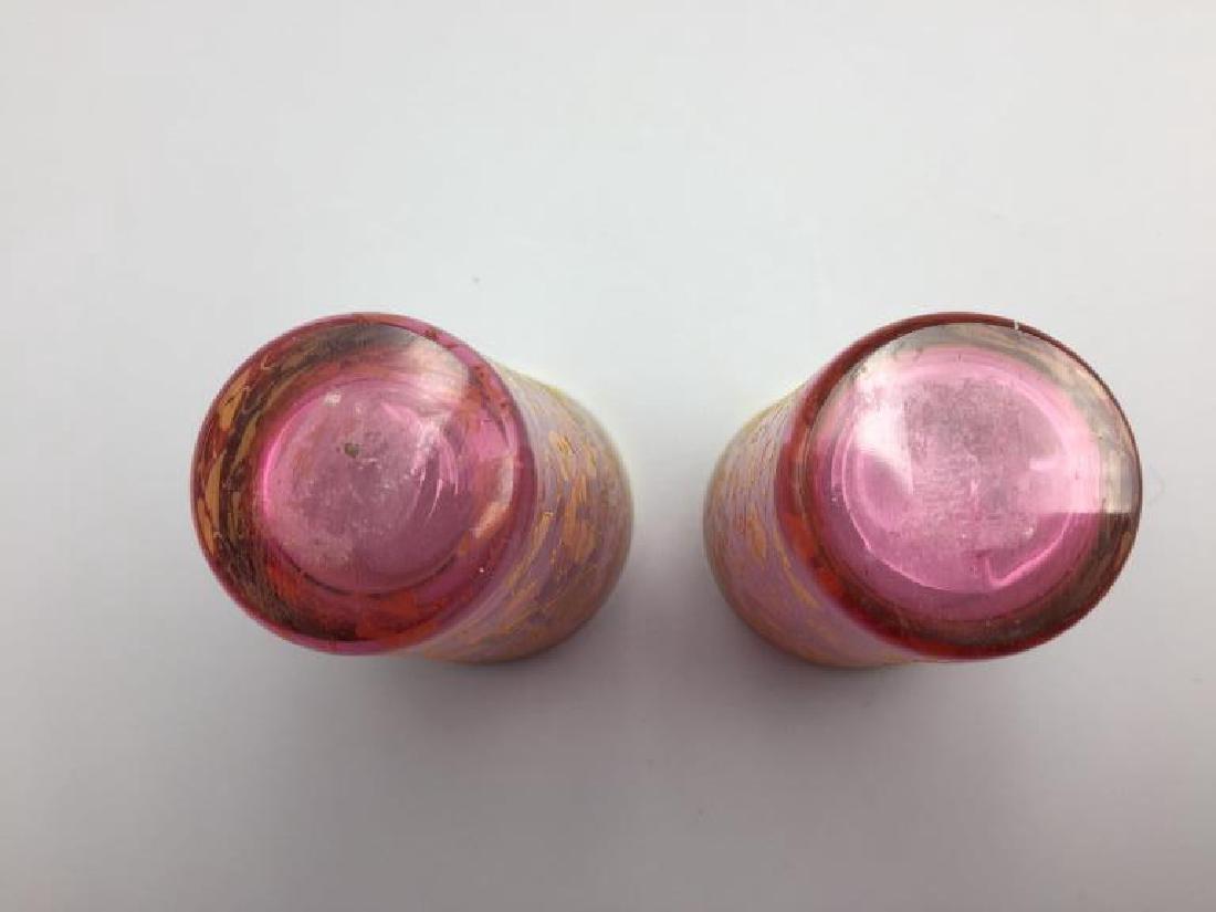 4  Moser glass tumblers - 7