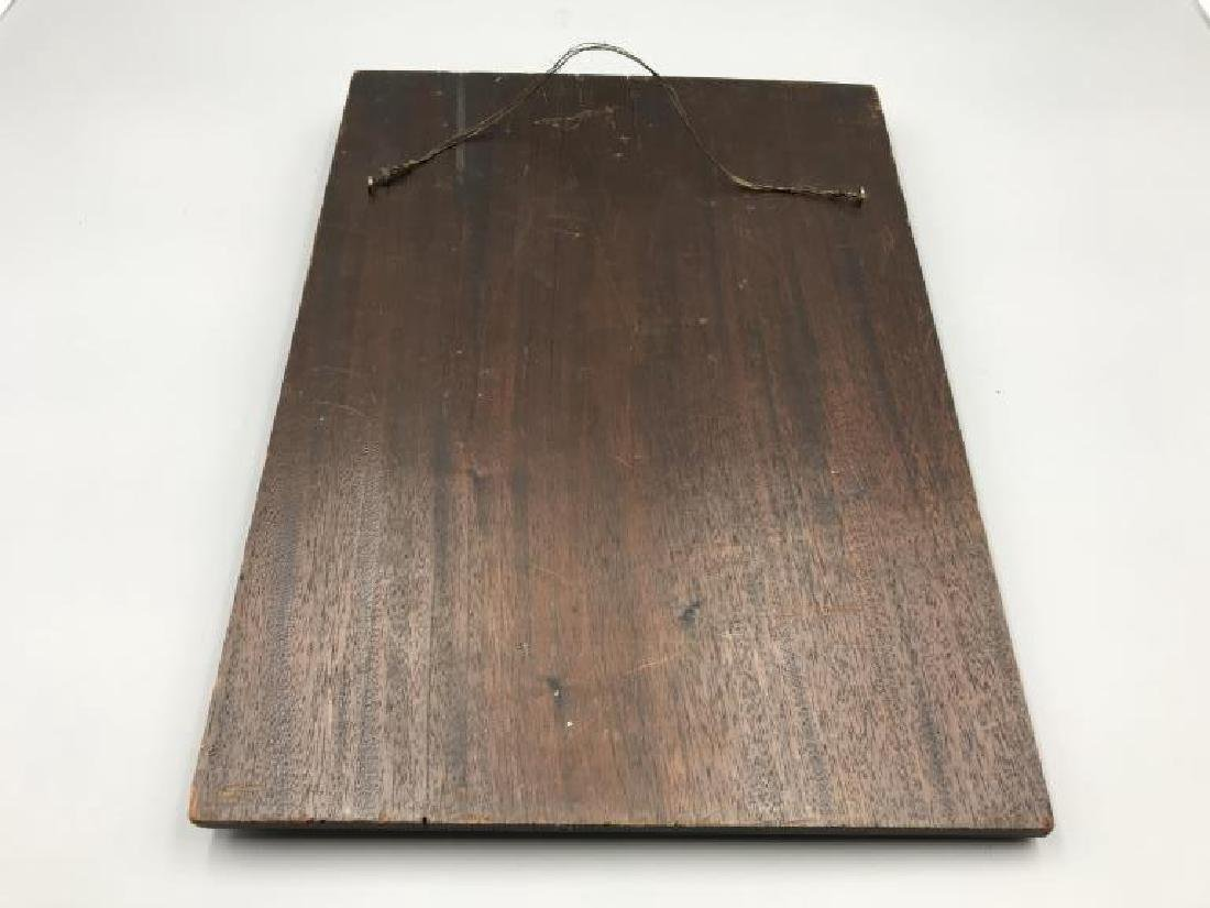 Warren G. Harding wood carving - 3