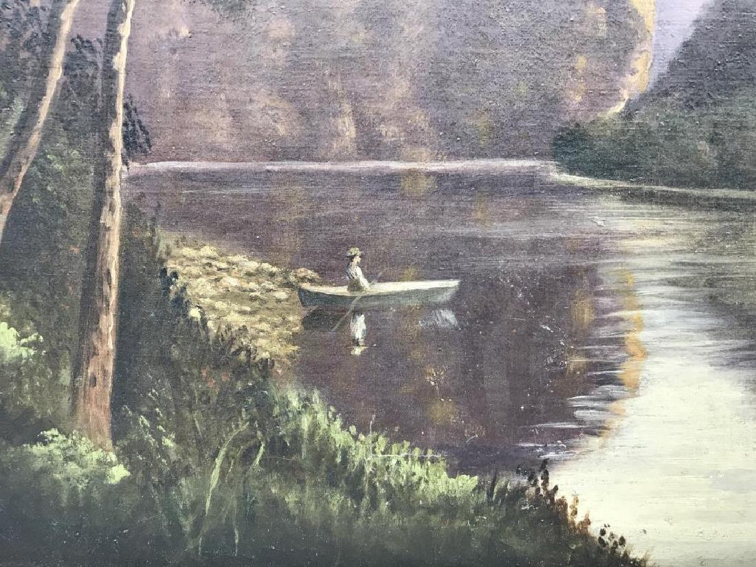 Water Gap oil painting - 2