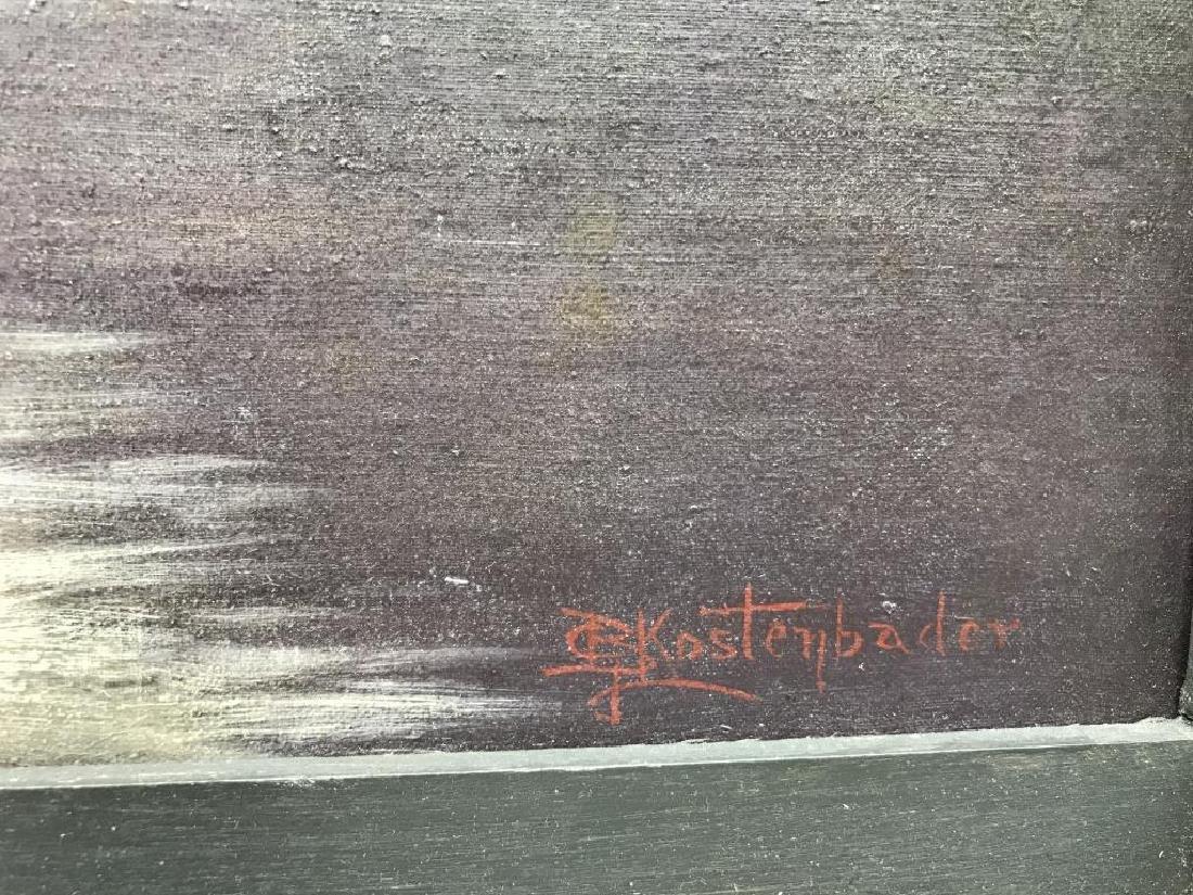 Water Gap oil painting - 3