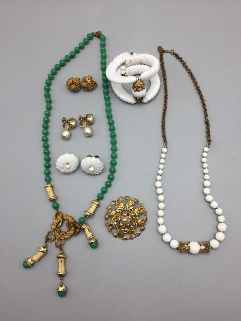 Miriam Haskell lot of jewelry