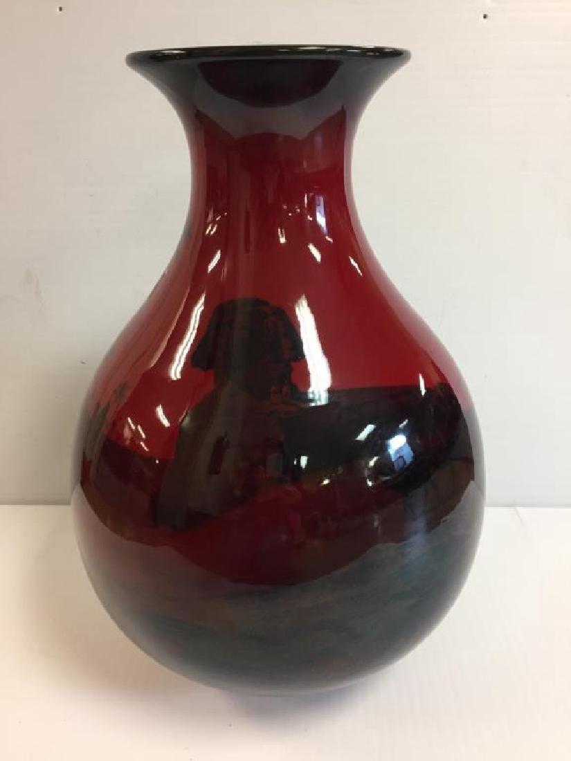 Rare Massive Royal Doulton Flambe vase