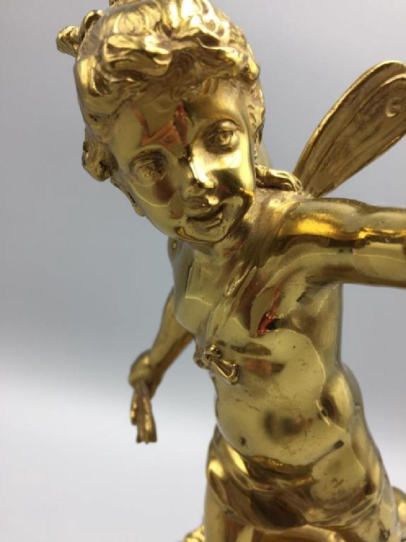 Bronze Cupid table light - 3