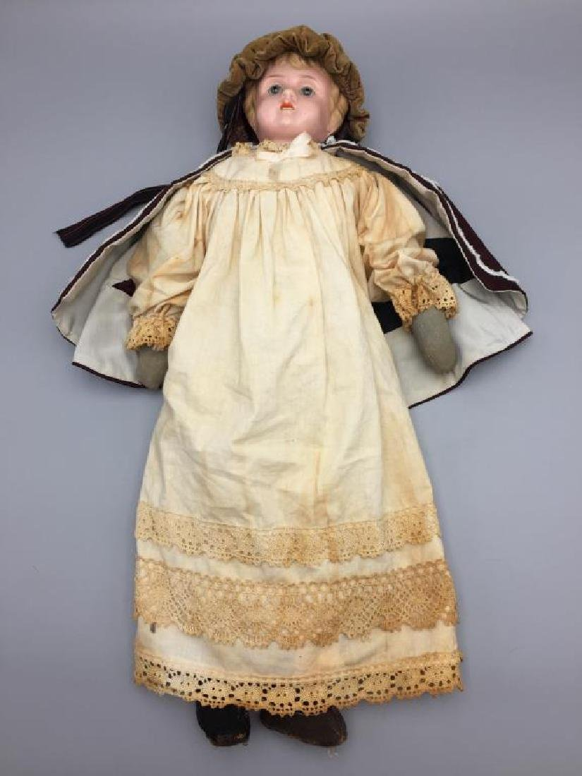 Early made in Germany tin Head doll