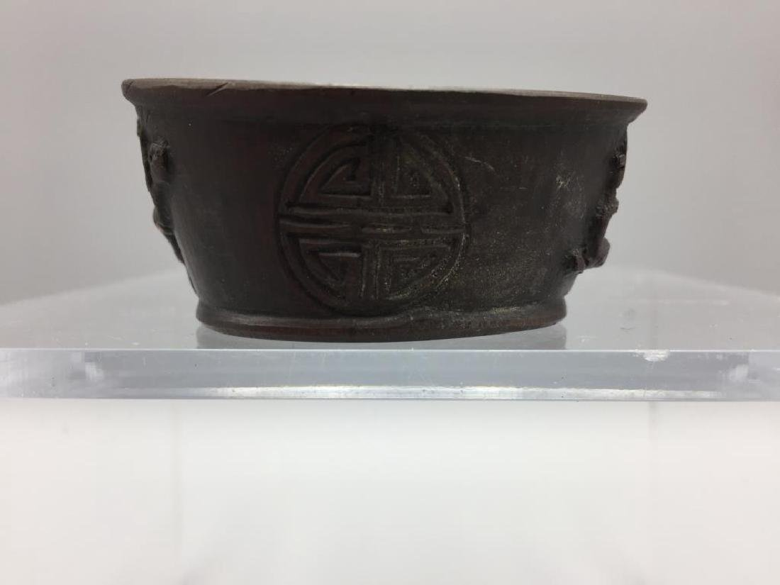 Bronzed cup with handle - 2